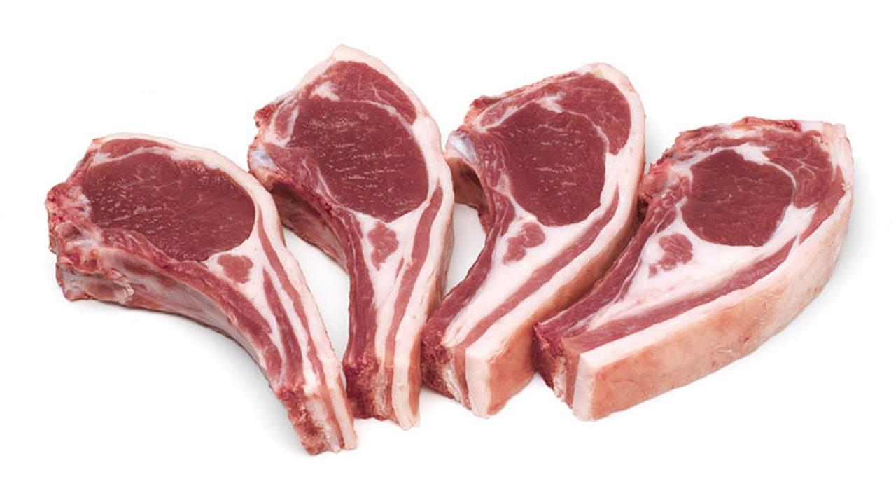 jahňacie mäso ukážka